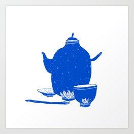 Tea Set Art Print