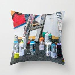 Artist's Playground Throw Pillow