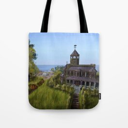 Mansion by the Coast Tote Bag