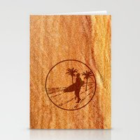 surfing Stationery Cards featuring surfing by Paul Simms