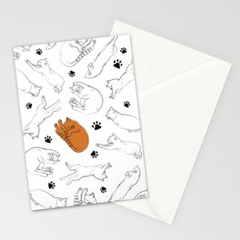 Caturday Stationery Cards