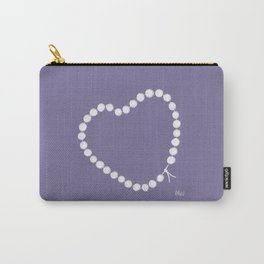 Pearl by Pearl / Perle par Perle / Lilac / Martin Moreau Carry-All Pouch