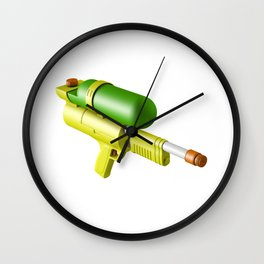 Water Gun Wall Clock