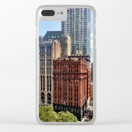 Civic Center Manhattan Clear iPhone Case