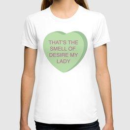 Brian Fantana Conversation Heart T-shirt