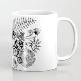 Tropical Leaves and Flowers Coffee Mug