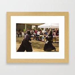 Tsuki Framed Art Print