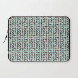 Seashell pattern in Green Laptop Sleeve