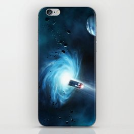 Tardis Doctor Who iPhone Skin