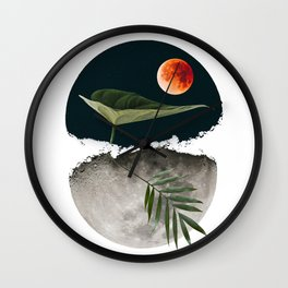 Tres Lunas Wall Clock