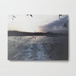 SEA @ ISTANBUL Bosphorus Metal Print