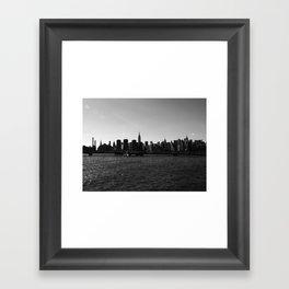 New York Skyline I Framed Art Print