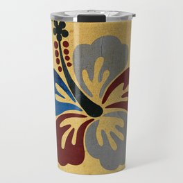 Hibiscus Flower Travel Mug