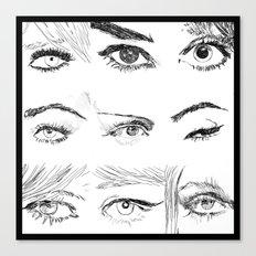 Many Eyes Canvas Print
