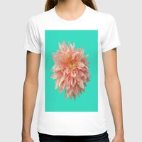 jewish T-shirts featuring Flower Petals by Brown Eyed Lady