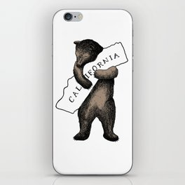 i love you california iPhone Skin