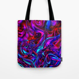 Blacklight Tote Bag