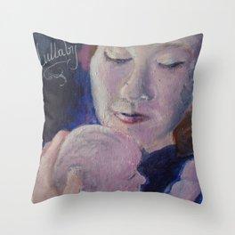 Lullaby Moon Throw Pillow
