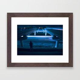 OVRPASS. Framed Art Print