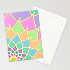 Pastel Lotus Stationery Cards