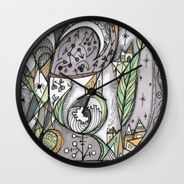 The Story Is Different Wall Clock