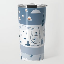 FERNAND Polar Bear  Travel Mug