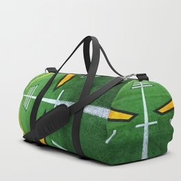 Rugby playing field Duffle Bag