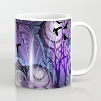bebop Mugs featuring Magical Swamp by thea walstra