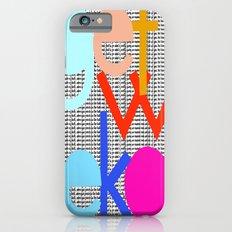 Get Woke iPhone 6s Slim Case