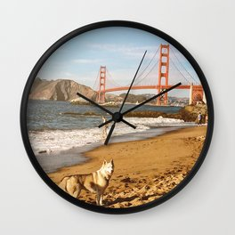 Sign of San Francisco Wall Clock