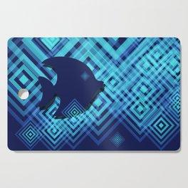 Blue Fish Angel Anglers Angles Cutting Board