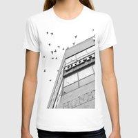 broadway T-shirts featuring Broadway Birds by XtinaYo