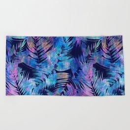 Waikiki Tropic {Blue} Beach Towel