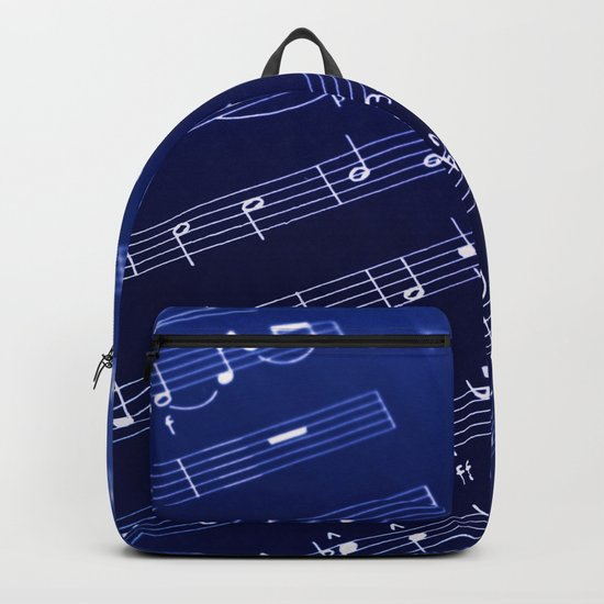 Inverted Music Score Backpack