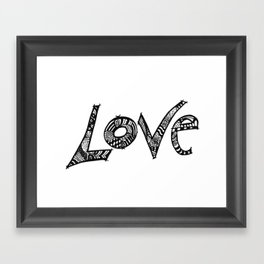 Just another Word Framed Art Print