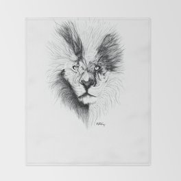 Amici Lion Throw Blanket