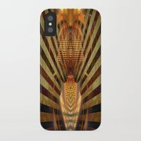 predator iPhone & iPod Cases featuring Predator by Tami Cudahy