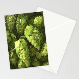 Fresh Cascade Hops Stationery Cards