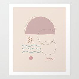 Lluvia Art Print