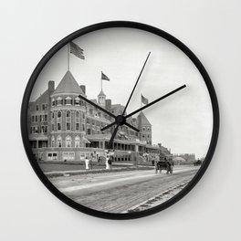 1910 Hotel Mathewson & Coastguard House at Narragansett Pier, Narragansett, Rhode Island Wall Clock