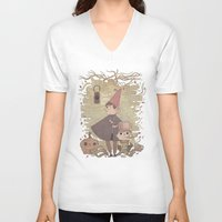 over the garden wall V-neck T-shirts featuring Over the Garden Wall by Hamish Steele
