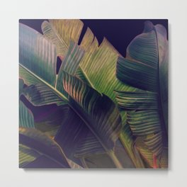 Night Tropics 3 Metal Print