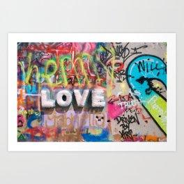 ATX LOVE Art Print