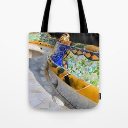 Gaudi Series - Parc Güell No. 1 Tote Bag