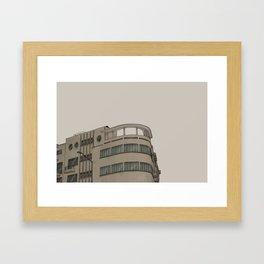 REALIDADES: 001 AGUASCALIENTES E INSURGENTES 2012 Framed Art Print