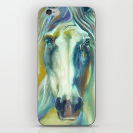 Horse in Color iPhone Skin