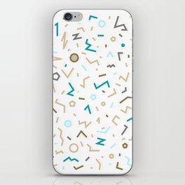 GOLDEN MEMPHIS PATTERN iPhone Skin