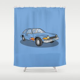 Mirth Mobile Shower Curtain