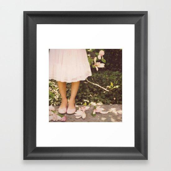 Late Bloomer Framed Art Print