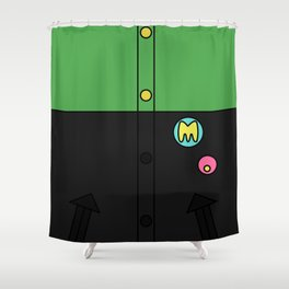 Makoto Jacket Shower Curtain